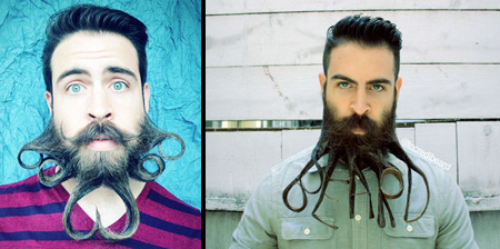 Creative Beard Styles