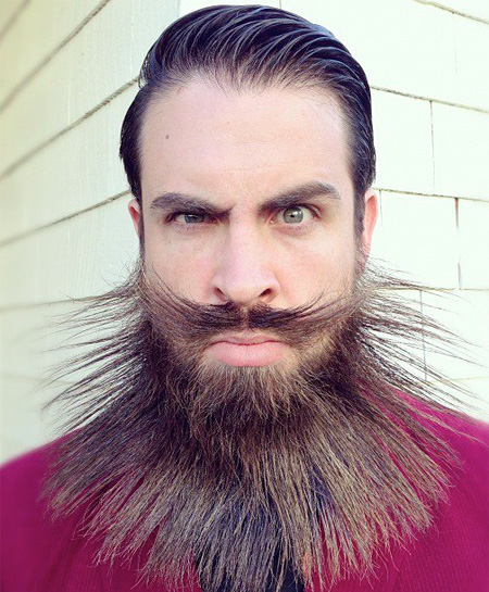 Creative Beard Art