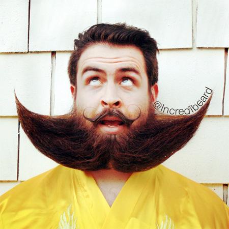 Creative Facial Hair Art