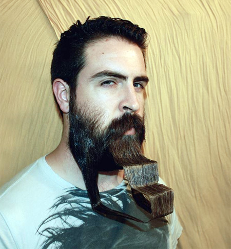Creative Facial Hair