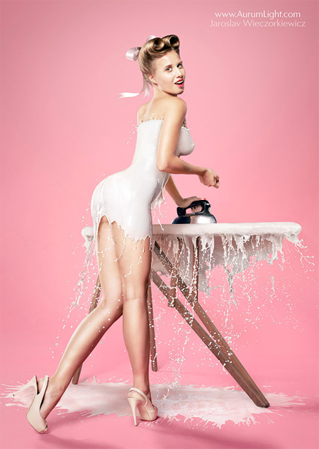 Milky PinUp