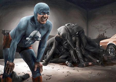 Older Superhero