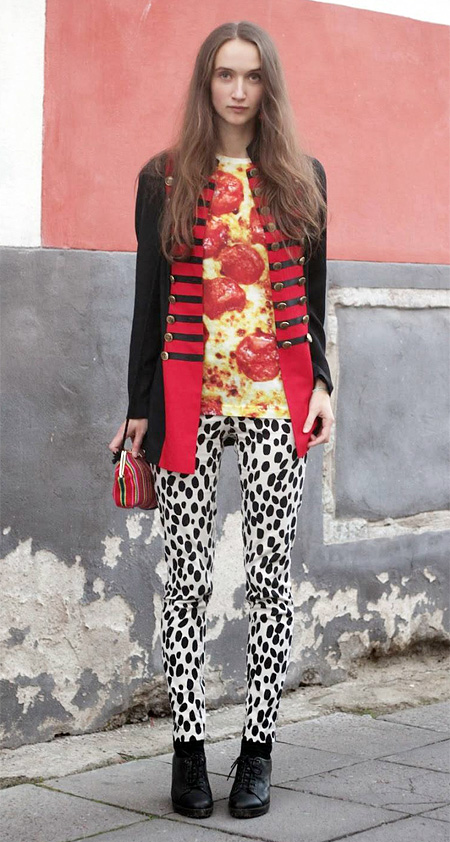 Pepperoni Pizza Shirt