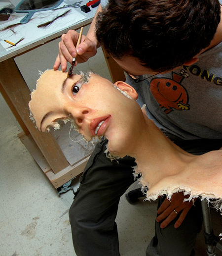 Hyper Realistic Sculptures by Jamie Salmon