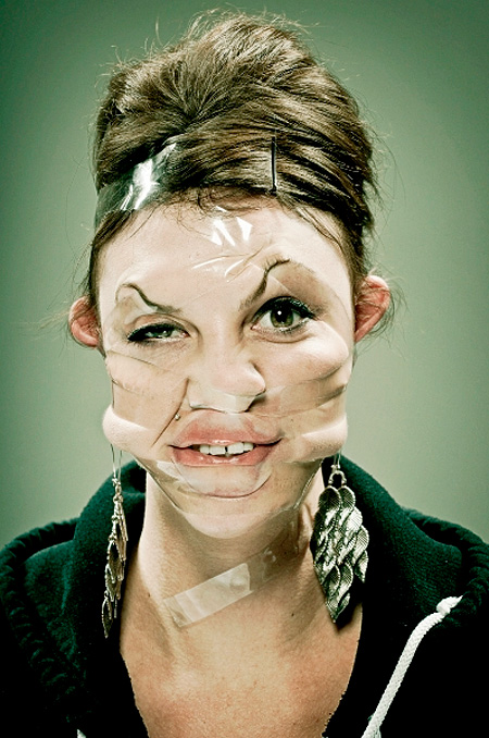 Scotch Tape Photography