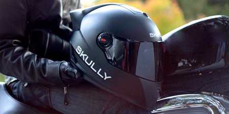 Helmet with Rearview Camera