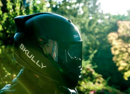 Helmet with a Camera