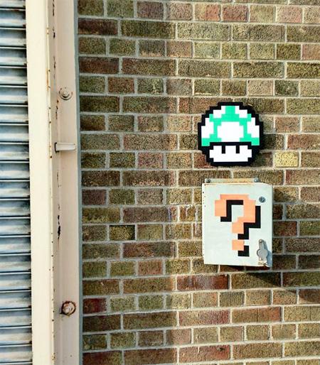 8 Bit Street Art