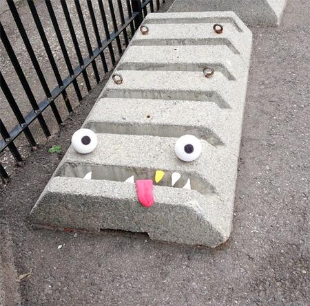 Monsters Street Art