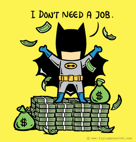 Perfect Jobs for Superheroes