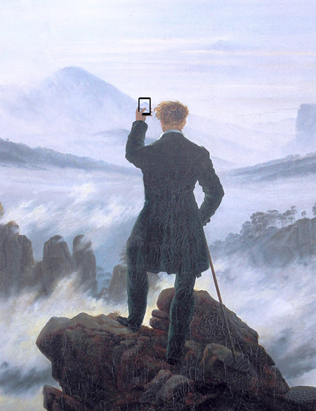 Modern Technology in Paintings