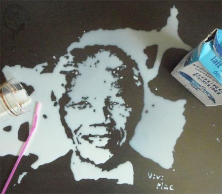 Milk Portrait