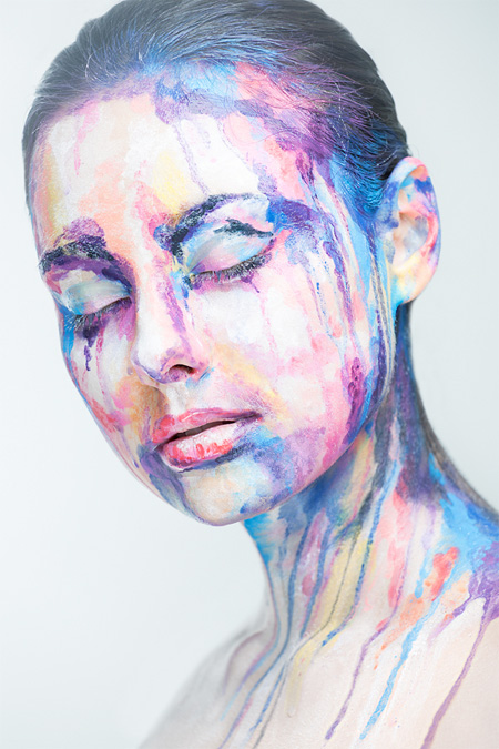 Models Transformed into Paintings