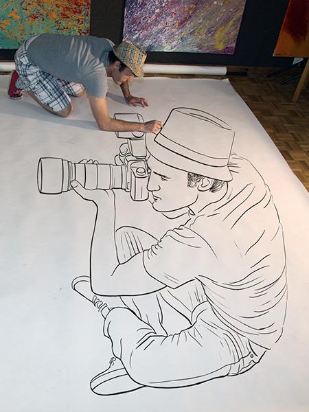 Ben Heine 3D Drawings