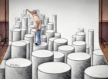 3D Art by Ben Heine