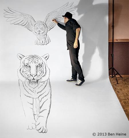 Belgian Artist Ben Heine