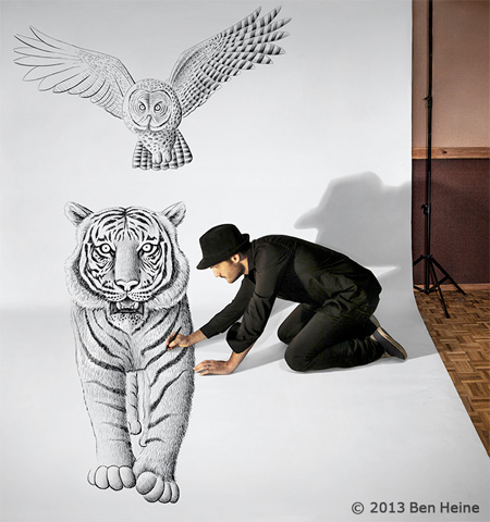 Artist Ben Heine