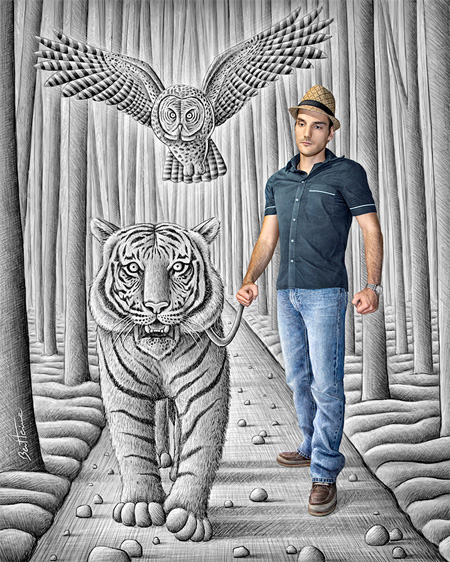 Talented Artist Ben Heine