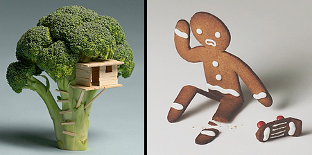 Food Art by Brock Davis