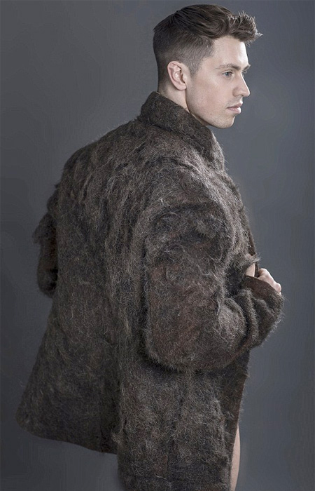 Coat Made of Chest Hair