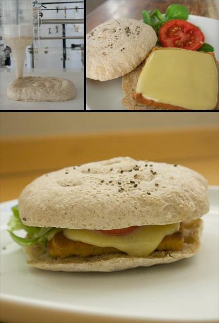 3D Printed Burger