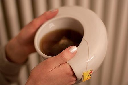 Hand Warming Coffee Mug
