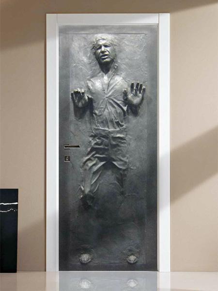 Han Solo in Carbonite Door