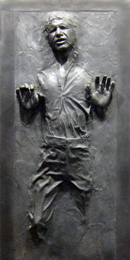 Han Solo Frozen in Carbonite Door