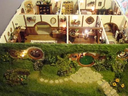 Hobbit Dollhouse by Maddie Brindley