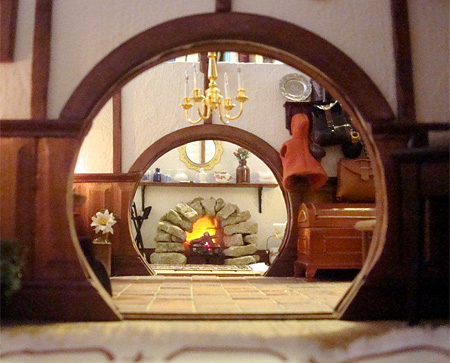 Bag End Dollhouse