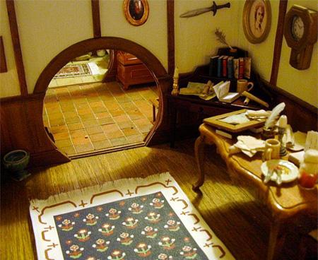 Miniature Hobbit House