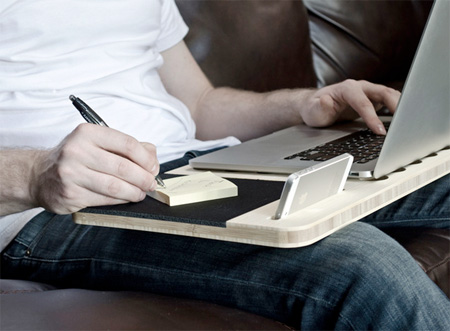 Mobile Notebook Desk