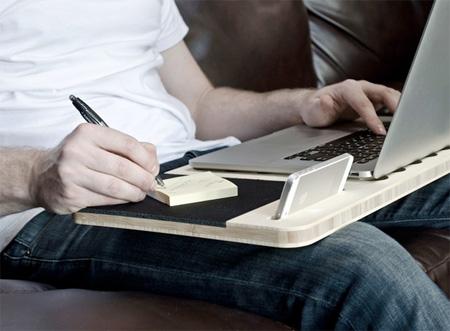 Mobile Notebook Desk