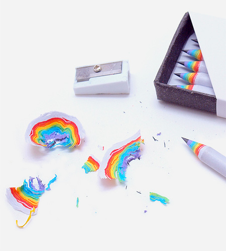 Rainbow Pencil by Duncan Shotton