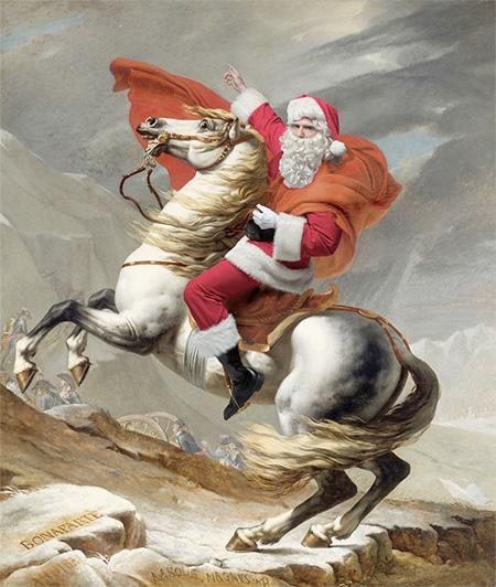 Santa Claus in Old Paintings