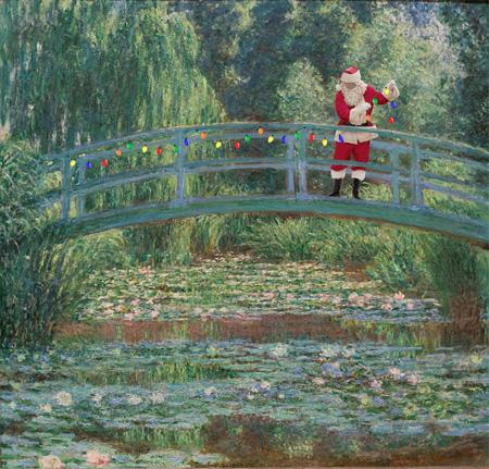 Santa Claus in Famous Paintings