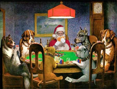 Santa Claus Paintings