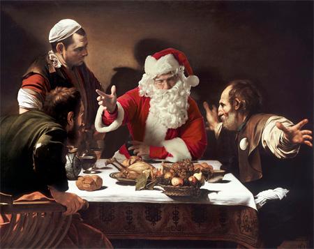 Santa Claus in Art