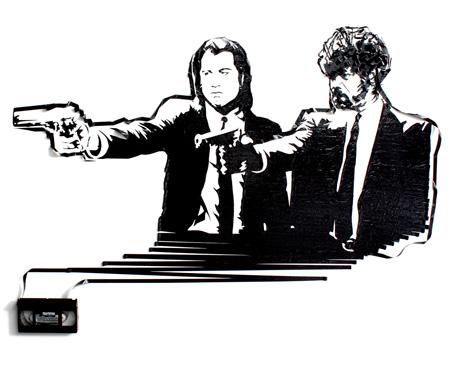 VHS Tape Art