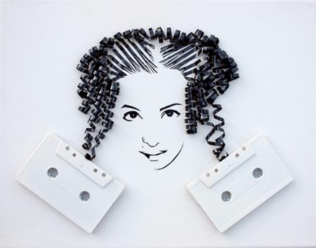 Tape Portrait