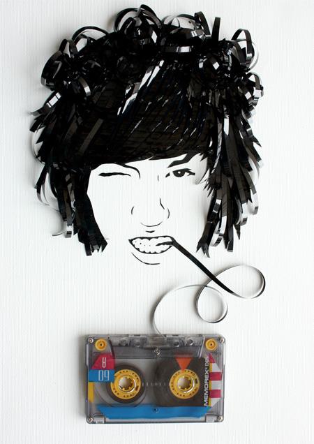 Tape Portraits