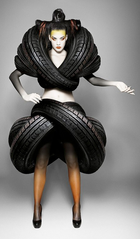Costume Made of Tires