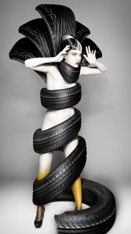 Clothing Made of Tires