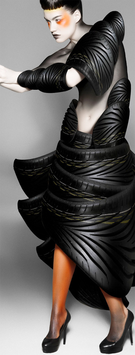 Dresses Made of Tires