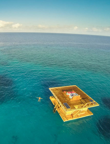 Floating Hotel with Underwater Room