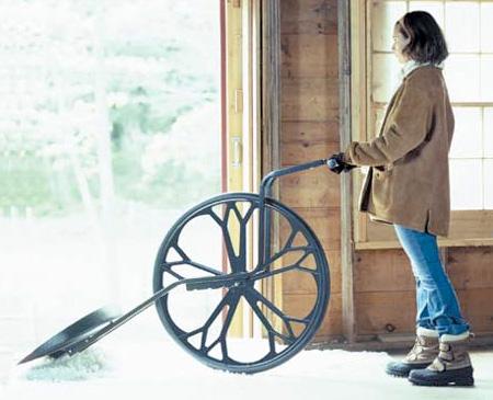 Wheeled Shovel