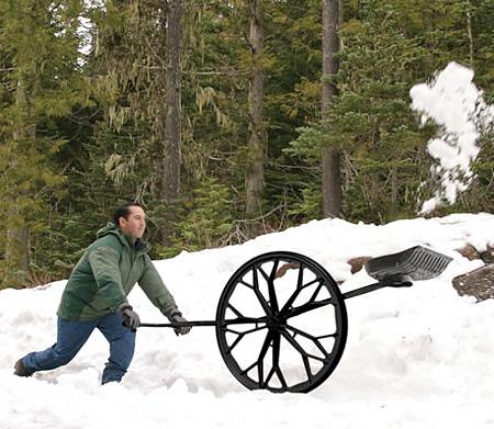 Wheel Shovel