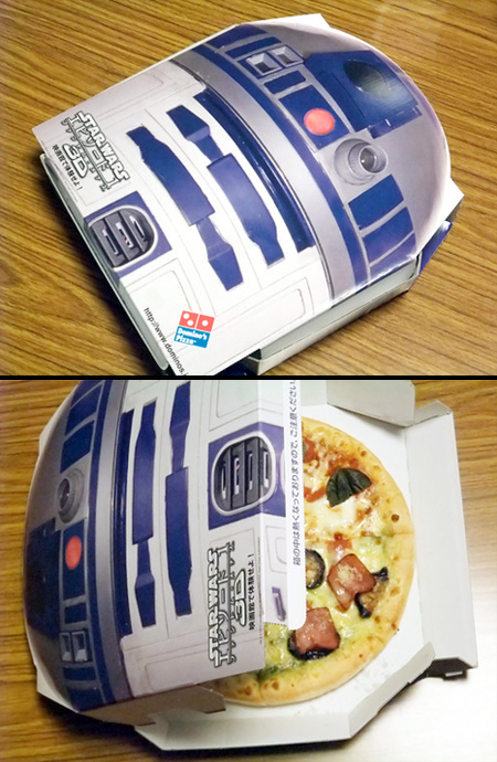 R2-D2 Pizza Box