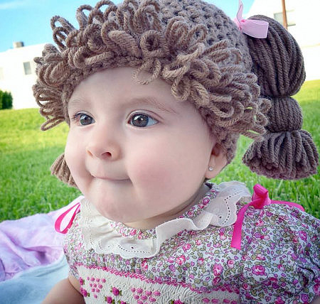 Cabbage Patch Kid Wigs