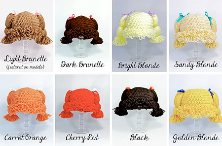 Cabbage Patch Kid Hats